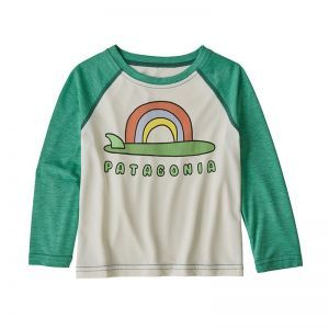 Bluza Copii Patagonia Baby Capilene Cool Daily Crew