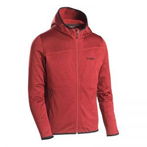 Hanorac Atomic M Microfleece Hoodie Red Dahlia