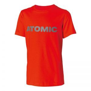 Tricou Atomic Alps Kids Bright Red