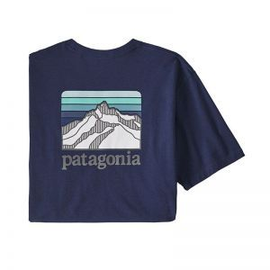 Tricou Patagonia M Line Logo Ridge Pocket Responsibili