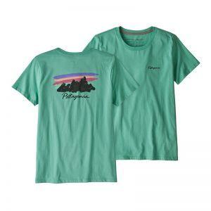 Tricou Patagonia W Free Hand Fitz Roy Organic Crew