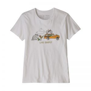 Tricou Patagonia W Live Simply Lounger Organic Crew