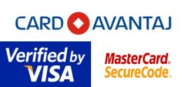 Card Avantaj, Visa, Mastercard - Secured