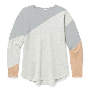 Bluza Corp Smartwool W Shadow Pine Colorblock Sweater