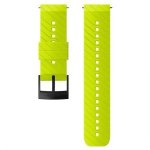 Curea Ceas Suunto 24mm Athletic 3, Silicon, Lime/negru M