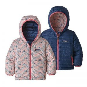 Geaca Copii Patagonia Baby Reversible Down Sweater Hoody