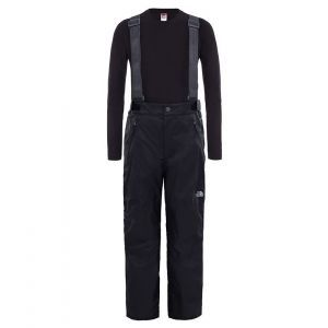 Pantaloni Copii The North Face Y Snowquest Suspender Plus