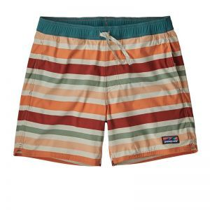 Sort Patagonia M Stretch Wavefarer Volley - 16 In.