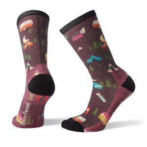 Sosete Smartwool W Hike Light Summer Night Print Crew
