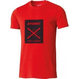 Tricou Atomic Alps Graphic Dark Red