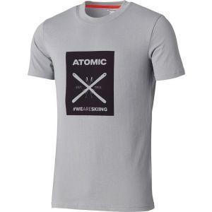 Tricou Atomic Alps Graphic Light Grey