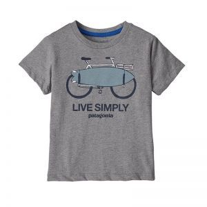 Tricou Copii Patagonia Baby Live Simply Organic