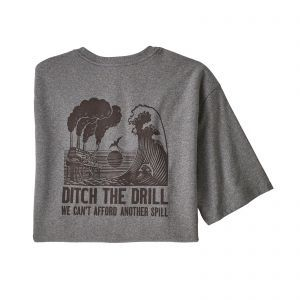 Tricou Patagonia M Ditch The Drill Responsibili