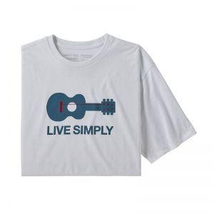 Tricou Patagonia M Live Simply Guitar Responsibili