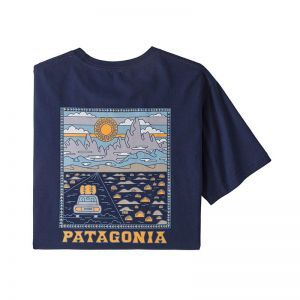 Tricou Patagonia M Summit Road Organic