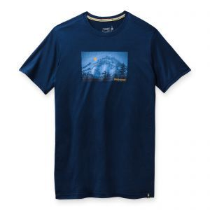 Tricou Smartwool M Merino Sport 150 Mount Hood Moon Graphic