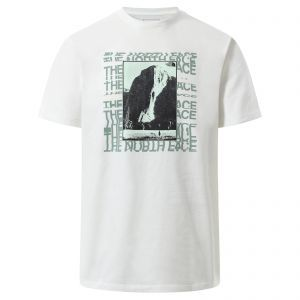 Tricou The North Face M Warped Graphic