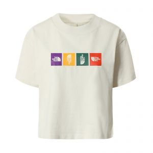 Tricou The North Face W Color Block Cropped