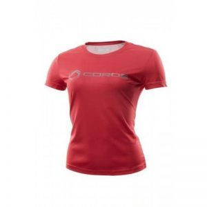 COROS Technical T-Shirt Dama - Red