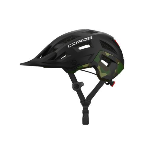 COROS SafeSound Smart Cycling Helmet - Mountain Black