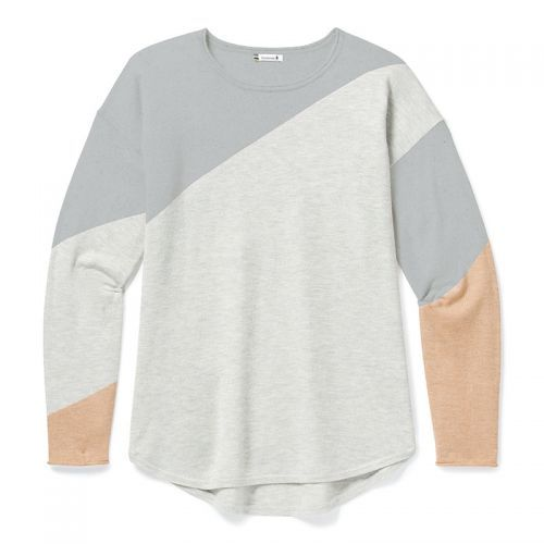 Bluza Corp Smartwool W Shadow Pine Colorblock Sweater