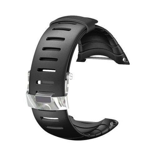 Curea ceas Suunto Core Standard, negru/argintiu
