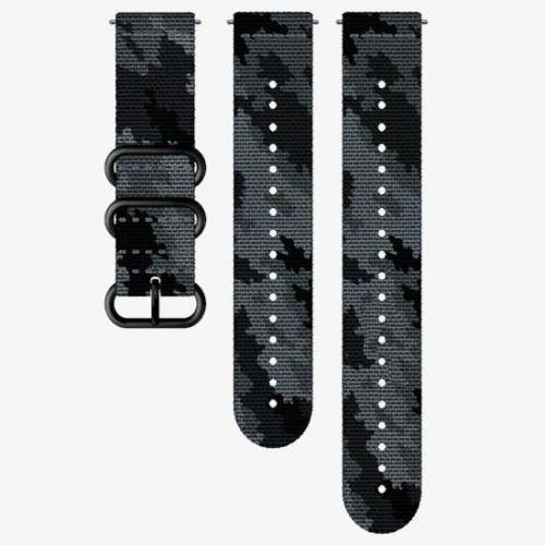 Curea Ceas Suunto Explore Textile Concrete, camuflaj negru