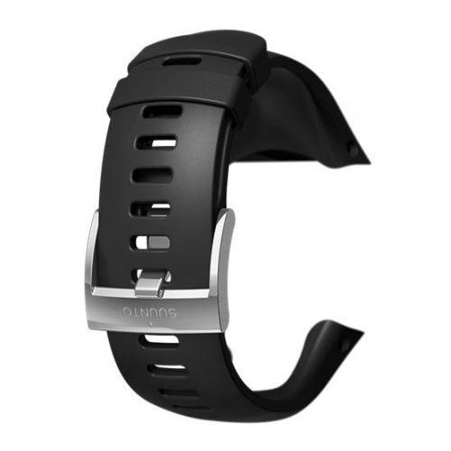 Curea ceas Suunto Spartan Trainer Wrist HR Steel, negru