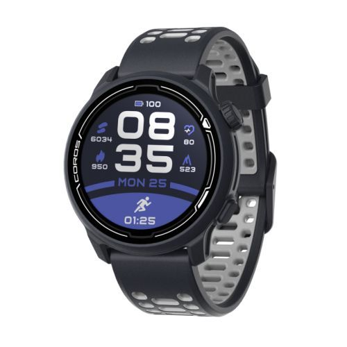 COROS PACE 2 Premium GPS Sport Watch Dark Navy w/ Silicone Band
