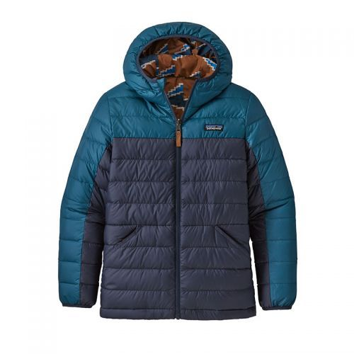 Geaca Copii Patagonia B Reversible Down Sweater Hoody