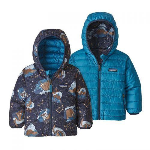 Geaca Copii Patagonia Baby Reversible Down Sweater Hoody