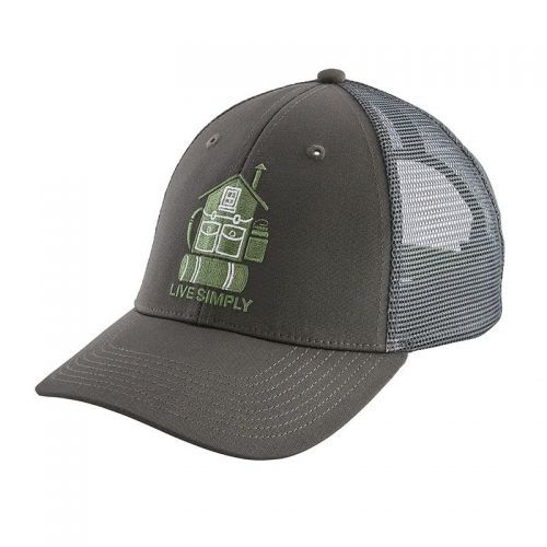 Sapca Patagonia Live Simply Home Lopro Trucker