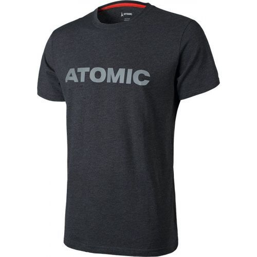 Tricou Atomic Alps Black/light Grey