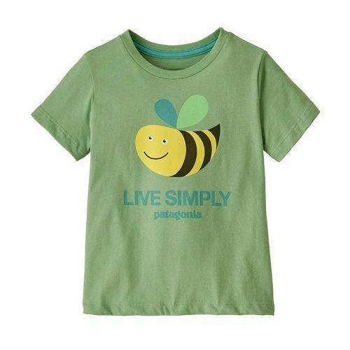 Tricou Copii Patagonia Baby Live Simply Organic
