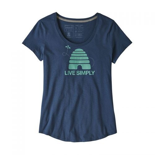 Tricou Patagonia W Live Simply Hive Organic Scoop